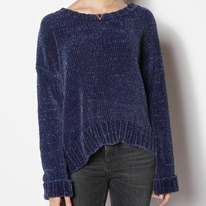Sanctuary Navy Chenille Sweater